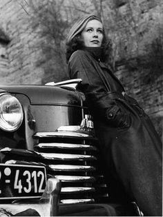 Hildegard Knef, 1951, Werbefoto für Opel, © Filmmuseum Berlin