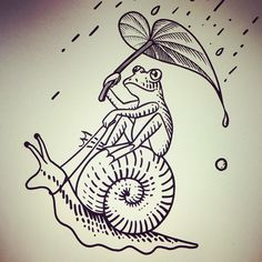 It's been so rainy and cloudy lately. There must be someone who are very happy with this weather. #frog #snail #sketch #ink #inked #instatattoo #instagood #instaart #ilovewhatido #illustration #drawing #art #cool #cute #rainyday #tattoo #tattoodesign #tattooideas #tattooartist #tattooshop #artist #cool #tattoosofinstagram #newhaven #connecticut