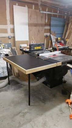 Sawstop Outfeed Table Height