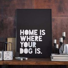 poster with your dog