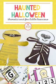 This Halloween unit is perfect for your preschool, pre-k and kindergarten classroom. This resourced includes detailed lesson plans, a list of fun, Halloween themed books with activities, STEAM activities and literacy and math centers. At Home Preschool Curriculum, Kindergarten Reading Activities, Holiday Activities For Kids, Kindergarten Math Activities, Holiday Crafts For Kids, Autumn Activities, Kindergarten Classroom, Math Resources, Kid Crafts