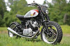 Yamaha XV920R Street Tracker by Hageman Motorcycles #streettracker #motorcycles #motos | caferacerpasion.com