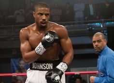 "In the new boxing film ""Creed,"" actor Michael B. Jordan manages to look even more ripped than..."