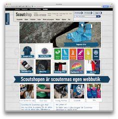 Scouterna.se - web shop