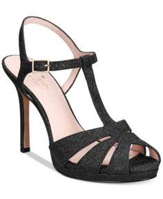 KATE SPADE Kate Spade New York Feodora Glitter Dress Sandals. #katespade #shoes # sandals