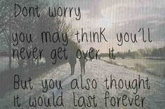getting over your ex quotes tumblr - Buscar con Google