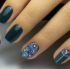 Nail Manicure, Diy Nails, Cute Nails, Pretty Nails, Manicure Ideas, Pretty Nail Designs, Simple Nail Art Designs, Henna Nails, Gel Nagel Design