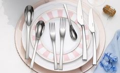 KITCHEN & DINING: Castelletto cutlery collection by Noritake