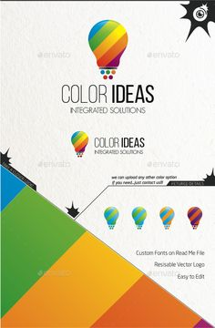 Color Ideas — Vector EPS #inspirational #creativity • Available here → https://graphicriver.net/item/color-ideas/9357767?ref=pxcr