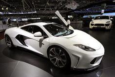 McLaren MP4. White is the new black.