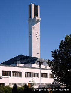 Lakeuden Risti church designed by Alvar Aalto in Seinäjoki in Finland