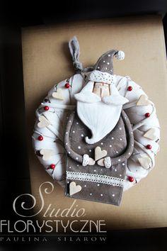 Salt dough by Paulina Silarow Oryginalny,ręcznie wykonany wianek -idealny do swiatecznej dekoracji.
