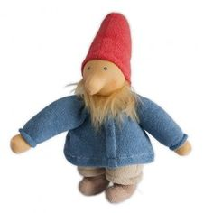 Papa Gnome Waldorf Doll. Handmade in Germany. Isn't he adorable?!