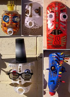 ╰☆╮Great mask recycling project! *.♡♥♡♥Love★it