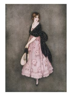A Romantic-Looking Young Victorian Woman Impressão giclée