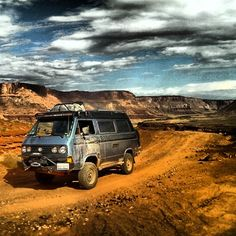 We only discovered SyncroBo just last week, but oh, what a find!SyncroBoand his allusive owners are making their way around the globe in very fine style. Follow their travels and find out all about their rather special Vanagon on theirFacebook page. Be sure to give them a like. See other SyncroBo photoshere. #Volkswagen #vw #vwt25 #vwt3 #vanagon #westy #westfalia #t25 #t3 #syncrobowww.VolkswagenT25.com
