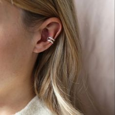 Silt Ear Cuff Silver Open Uneven Ear Cuff Polished Brass with 925 Silver Plating Cut out detail for a contemporary look Dimensions Width: Silver Ear Cuff, 925 Silver, Adjustable Weights, Family Jewels, Polished Brass, Dress Jewellery, Jewelry, Stud Earrings, Detail