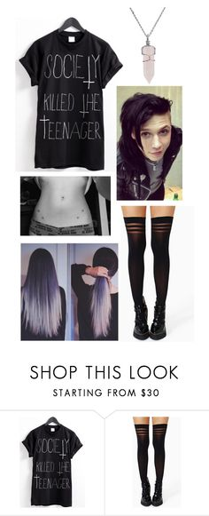 """""""Out with Andy Biersack"""" by yoitsmeg87 ❤ liked on Polyvore featuring Bling Jewelry"""