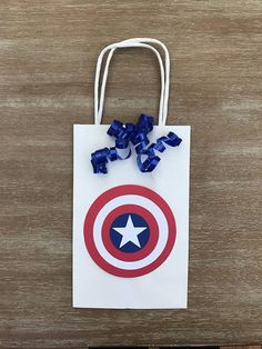 Captain America Avengers Birthday Boy Favor Candy Party Goody