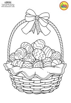 Easter coloring pages - Uskrs bojanke za djecu - Free printables, Easter bunny, eggs, chicks and more on BonTon TV - Coloring books Easter Coloring Pages Printable, Easter Coloring Sheets, Spring Coloring Pages, Easter Colouring, Cool Coloring Pages, Coloring Books, Easter Art, Easter Crafts, Easter Bunny