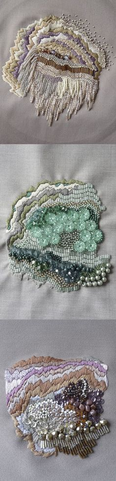 For AS textiles- decorative project. Anna Jane Searle | Hand Embroidery & Beading: