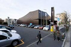 Za-Koenji, located within a residential district, is a public theatre replacing the old Koenji Hall.