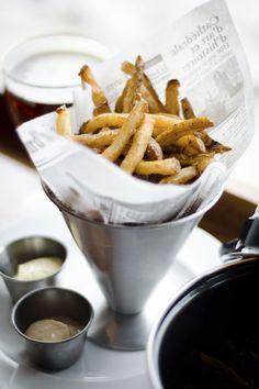 Moule Frites at Brasserie V: Specializing in Belgian beer, this spot boasts some of the best taps in town. It recently expanded, which is good news for patrons clamoring for a good pour and tasty moule frites (mussels and fries). (Ryan Wisniewski photo) #MadCityMustEats #IsthmusDining