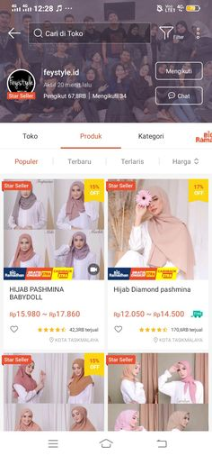 Best Online Clothing Stores, Online Shopping Sites, Online Shopping Clothes, Modern Hijab Fashion, Curvy Fashion, Ootd, Hijab Tutorial, Clothing Hacks, Shops