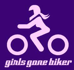 Girl gone biker, biker chick, sportbike,  motorcycle, quote