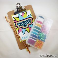 Dollar Store Crafts » Blog Archive » 10 Last Minute DIY Gift Ideas for Tween Girls