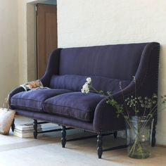 violet banquette