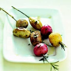 Baby Potato Kabobs