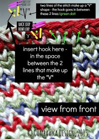 An Old Crochet Stitch - Tutorial ❥ 4U // hf