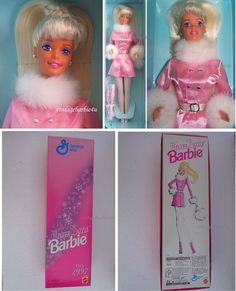 Winter Dazzle Platinum Blonde Barbie Doll General Mills RARE NEW MIB Mattel #Mattel #DollswithClothingAccessories