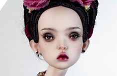 5 Russian Doll Artists Creating Eerie, Hyperrealistic Handmade Toys - VICE These eye-popping art dolls will give you the shivers. Audrey Kawasaki, Mark Ryden, Russian Culture, Russian Art, Trevor Brown, Popovy Sisters, Enchanted Doll, Victorian Dolls, China Dolls