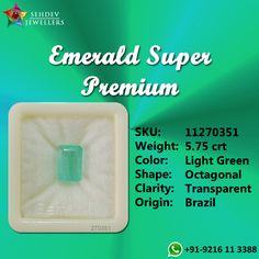 "Emerald is known as the ""stone of successful love"". It brings loyalty and provides for domestic bliss. It enhances unconditional love, unity and promotes friendship. Panna Stone, Colombian Emeralds, Amritsar, Emerald Gemstone, Natural Gemstones, Gin, Loyalty, Unity, Fields"
