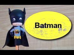 Neste vídeo ensino a fazer o Batman para lembrancinhas, um ótimo tema para lembrança de meninos... LINK direto para o post da Lista de materiais da peça: Fac...