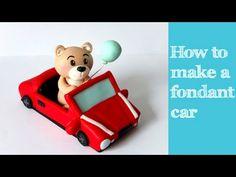 How to make a fondant car tutorial / Jak zrobić samochód z masy cukrowej - YouTube