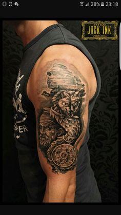 Sfinxul - My most beautiful tattoo list Soccer Tattoos, Baby Tattoos, Body Art Tattoos, Tatoos, Wolf Tattoo Design, Tattoo Designs, Lightning Tattoo, Hourglass Tattoo, Warrior Tattoos