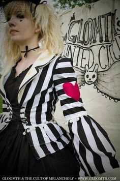 Gloomth's Haunted Circus Ringmaster Jacket par gloomth sur Etsy, $110.00