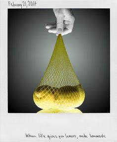 When life gives you lemons, make lemonade Left Handed, Lemonade, Pictures, Songs Of Praise, Mesh, Fruit, Root Beer