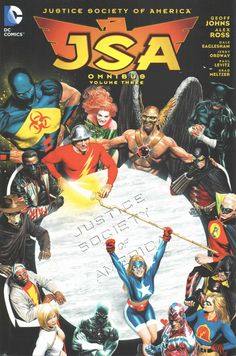 Known for his groundbreaking work on Green Lantern over a decade ago, Geoff Johns brought the Justice Society of America characters once rooted in the Golden Age of comics back to the forefront of graphic storytelling. Justice Society Of America, Comic Book Covers, Comic Books Art, Detective Comics 1, Dc Comics Superheroes, Cartoon Tv, Dc Heroes, Vintage Comics, Comic Character