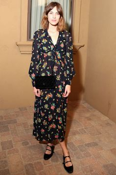 Alexa Chung And Kate Bosworth Love Their Carven Shoes – Here's ...