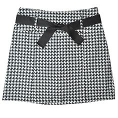 NEW!! Golftini Houndstooth pleated golf skort - perfect for fall golf!
