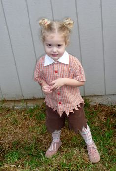 Lollipop kid costume refashioned from thrifted clothes for our Wizard of Oz kid party. I  sc 1 st  Pinterest & Home made Lollipop Guild Costume :) | Halloween | Pinterest ...