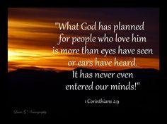 Bible Verses About Life Struggles | 1 Corinthians 2 9