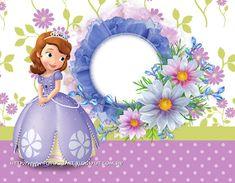 Princess Sofia Invitations, Princess Sofia Cake, Princess Sofia Birthday, Princess Party, Birthday Invitations, Happy 1st Birthdays, Happy Birthday Cakes, Princes Sofia, Invitation Layout