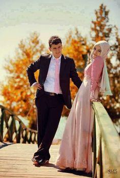 #Muslim Couple..
