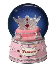 Princess Crown Snow Globe by The San Francisco Music Box Company $24.99
