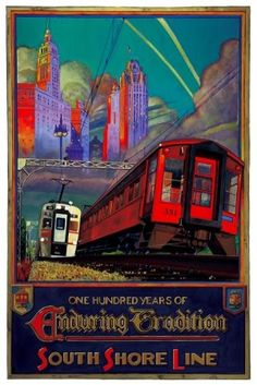All aboard for South Shore poster show
